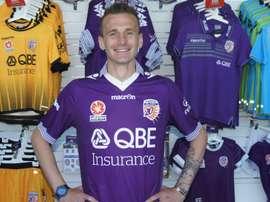 Lucian Goian, nuevo jugador del Perth Glory. PerthGlory