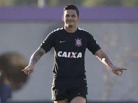 Luciano estava emprestado ao Panathinaikos. Corinthians