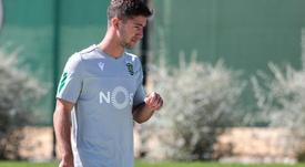Vietto espera recuperar su mejor versión en Lisboa. SportingCP