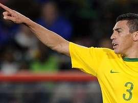 Lúcio se aposenta aos 41 anos. AFP