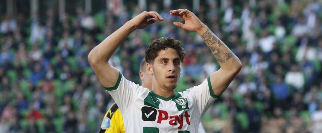 Ludovit Reis reforçará o time B. FCGroningen