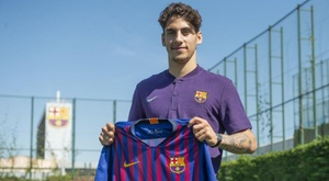 le Barça annonce la signature de Ludovit Reis. FCBarcelone