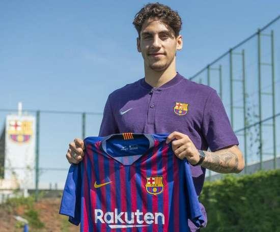 El Barça anuncia el fichaje de Ludovit Reis. FCBarcelona