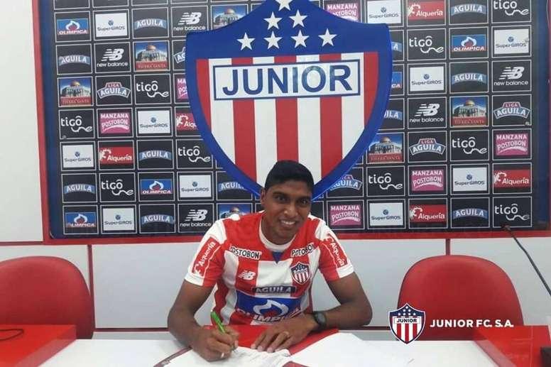 Luis Carlos ya es de Junior. ClubJuniorSA