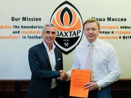 Luís Castro é o novo treinador do Shakhtar Donetsk. FCShakhtar