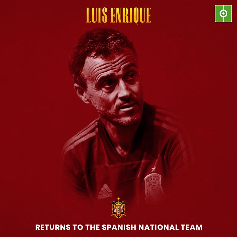 Luis Enrique returns. BeSoccer