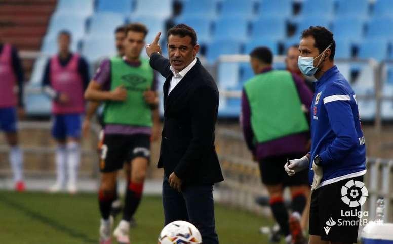 Luis García, a por todas ante el Sporting. LaLiga
