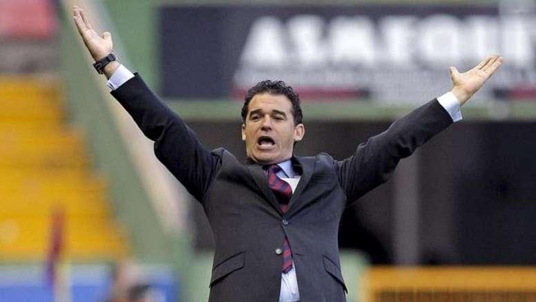 Luis García, entrenador del Mallorca