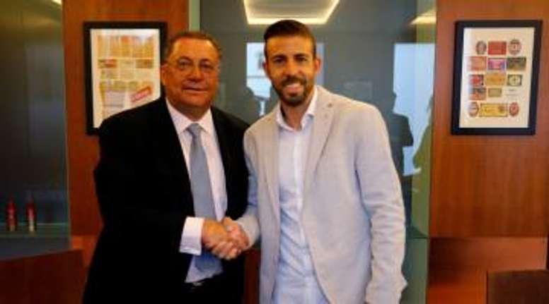 Luis García habló de la temporada del Espanyol. FCDamm