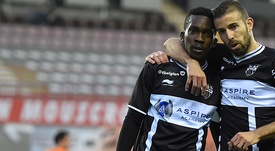 El KAS Eupen visita al Brujas en la cuarta fecha de Liga Belga. AFP
