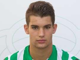 Lara se ha formado en el Betis, aunque la pasada temporada jugó en el San Roque. RealBetisBalompie