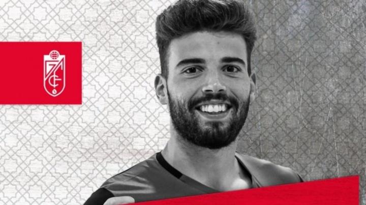 Luís Maximiano, nuevo portero del Granada. Twitter/GranadaCdeF