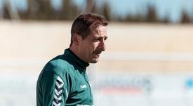 Ramis analizó el momento actual de la plantilla. Twitter/AlbaceteBPSAD