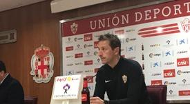 Ramis sabe que el partido ante el Córdoba es muy importante. UDAlmería