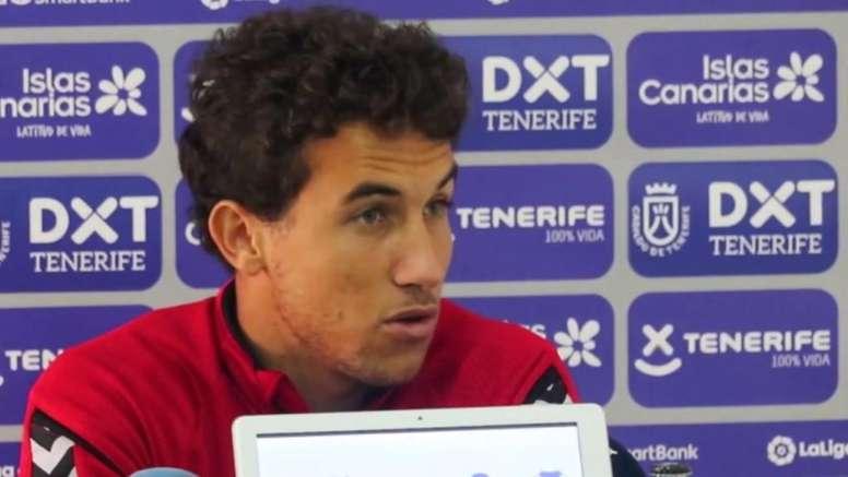 Luis Milla mandó un mensaje de optimismo. Captura/YouTube/CDTenerife
