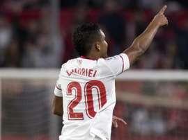 Luis Muriel marcou o primeiro da partida. EFE