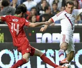 O defesa foi titular no último jogo da Seleção. UEFA