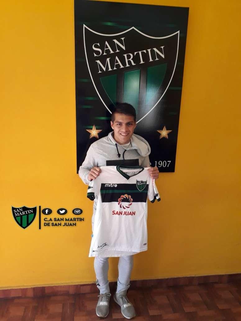 Luis Olivera jugará en San Martín. SanMartín