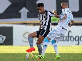 Botafogo suma una racha de cinco victorias consecutivas en el Brasileirao. @BotafogoOficial