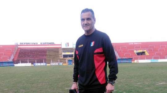 El ayudante de Maradona espera ver a Dorados en la Liga MX. Twitter/IslasLuis