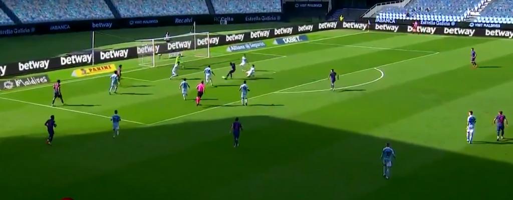 Gol de Luis Suárez al Celta