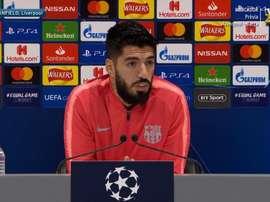 Luis Suárez a analysé la demie retour de Ligue des champions face à Liverpool. Capture/FCBarcelone