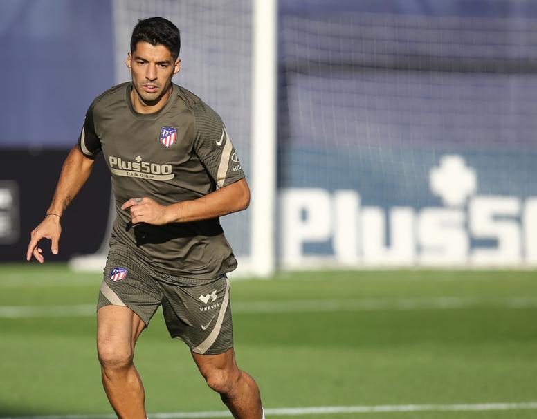 Simeone dará minutos a Suárez. Twitter/Atleti