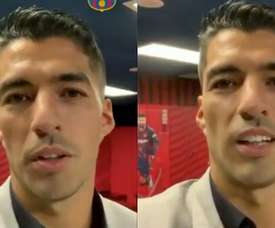 Suárez thinks he will return to Barcelona. Screenshots/FCBarcelona