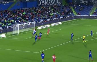 Apareció el 'Pistolero': Suárez marcó el 1-1 contra 10. Captura/MovistarLaLiga
