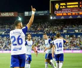 La Lazio va proposer 15 millions d'euros pour Luis Suárez. Twitter/RealZaragoza