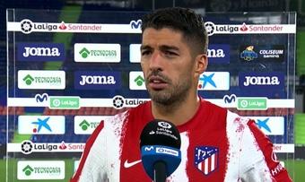 Luis Suárez analizó la victoria ante el Getafe. Captura/MovistarLaLiga