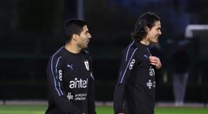 Les deux attaquants en forme. Uruguay