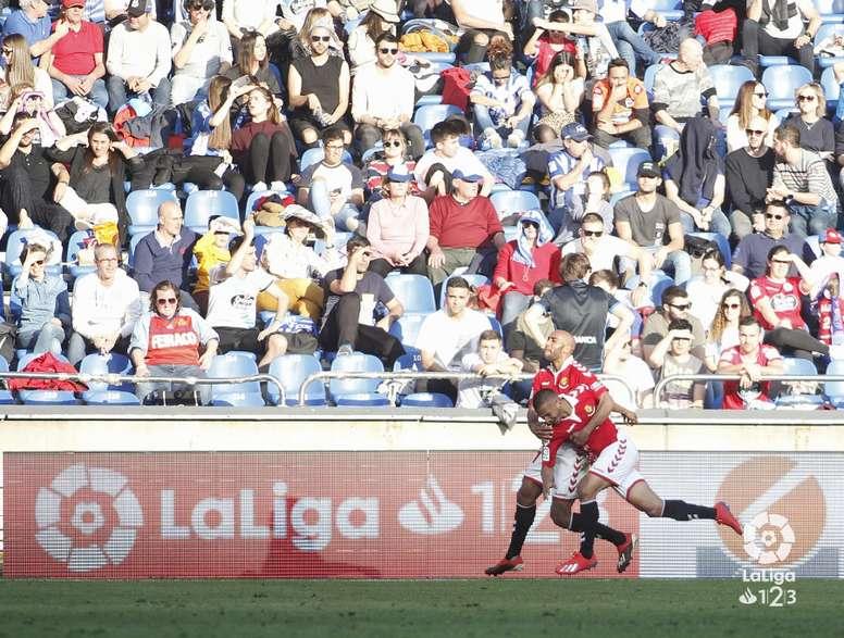 El Nàstic espera sumar otra victoria a costa del Oviedo. LaLiga