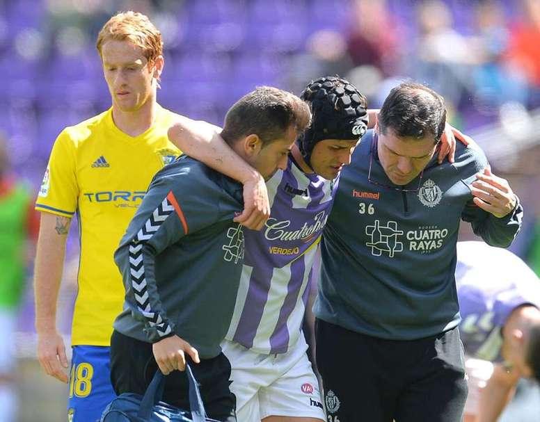 Luismi jugará en el Oviedo los próximos meses. RealValladolid