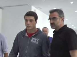 Luka Guzek, nuevo jugador del Betis. Beticismo