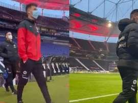 Jovic parte dalla panchina. Eintracht