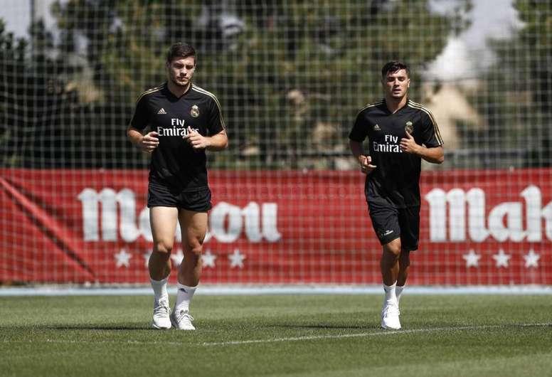 Luka Jovic pourrait partir à l'Inter. RealMadrid