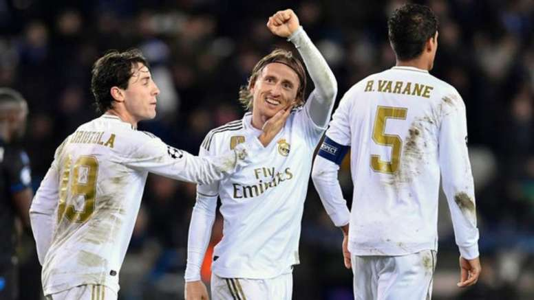 Modric analysed Real Madrid's win. AFP