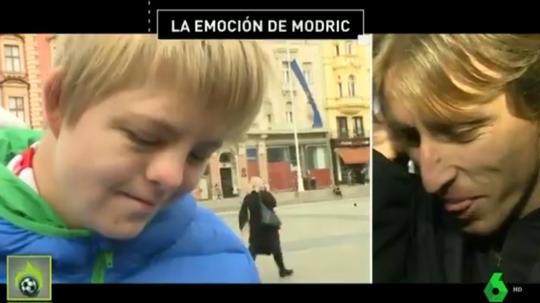 Modric le hizo feliz y Peter le emocionó. Jugones