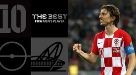Luka Modric era el gran favorito para llevarse el premio. FIFA