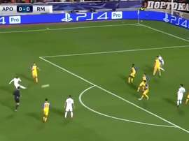 Modric volleyed home from outside the box. Twitter