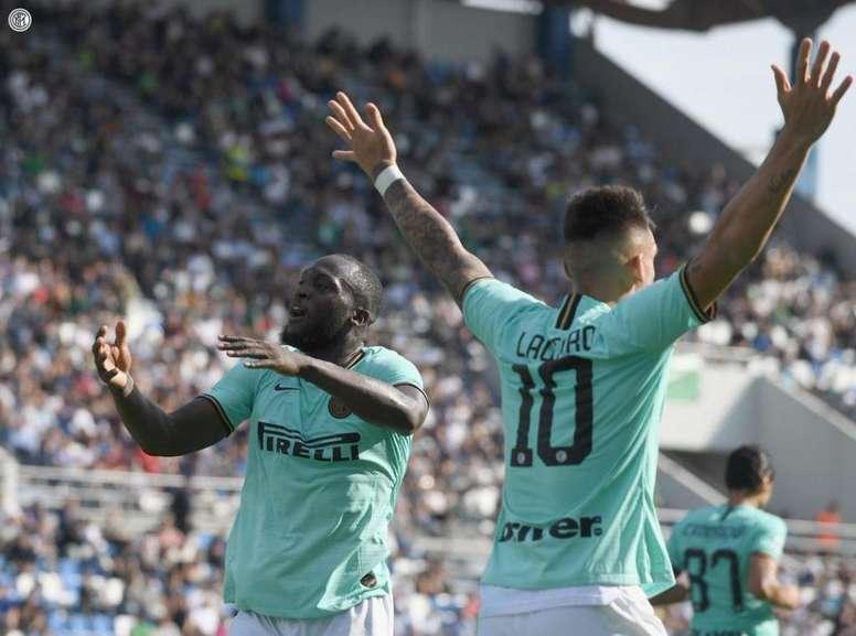 L'Inter ritrova la vittoria in Serie A. Twitter/Inter