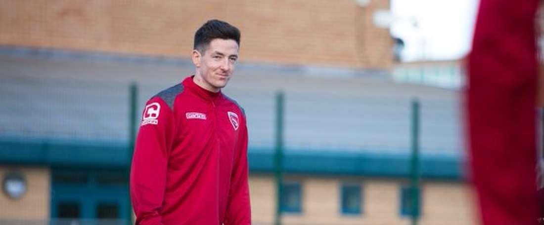 Luke Conlan jugará en el Morecambe de la League Two hasta final de temporada. Twitter
