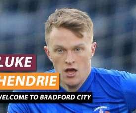 El inglés jugará cedido hasta enero. BradfordCityAFC