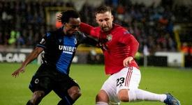 Martial permet à United de prendre une option. EFE