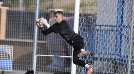 Lunin podría no tener más minutos si el Leganés cae eliminado de Copa. CDLeganés