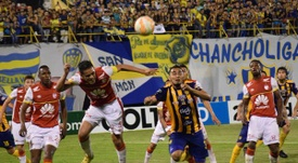 Luqueño y Santa Fe empataron en la Copa Sudamericana. ClubSpLuqueño