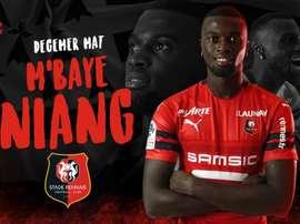 M'Baye Niang regresa a Francia. Staderennais