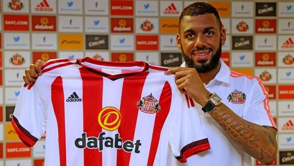 M'Vila, nuevo refuerzo del Sunderland. Twitter