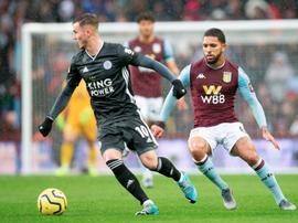 El Leicester aumentó su diferencia con el City. Twitter/AVFCOfficial